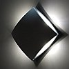 Elstead Lutec Pilo UT/PILO 1869 Black Square LED Exterior Lamp